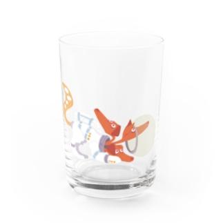 Space Cerberus Water Glass