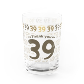 CT118 サンキュー39*Thank you*Dbg Water Glass