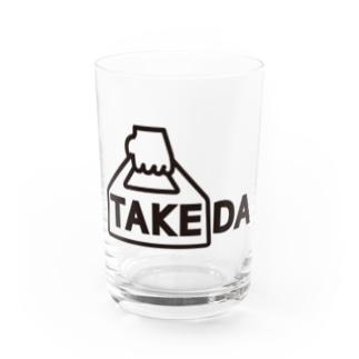 TAKEDA vo.1 BLACK  FONT Water Glass