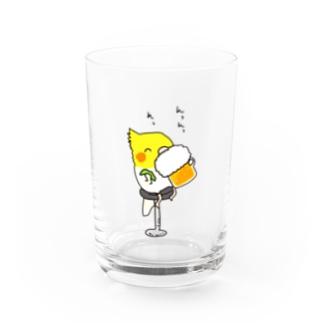 ビールクズオカメインコ Water Glass