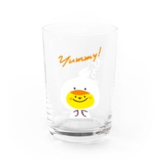 ひとくち餃子専門店ひろやす(女の子 ver.K) Water Glass