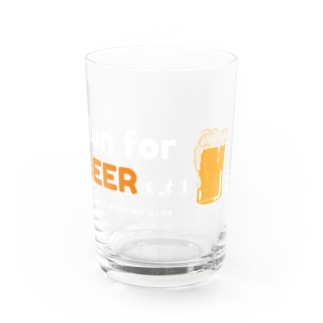 Run for BEERシリーズ Water Glass