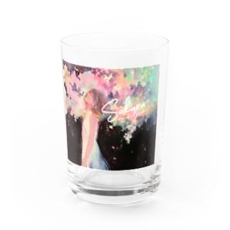 Sakura by日端奈奈子 Water Glass