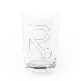Rooマーク(線)Goods Water Glass