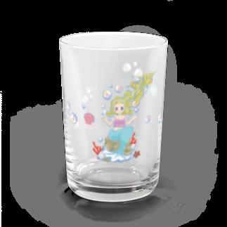 morimorikaの人魚姫ちゃん Water Glass左面