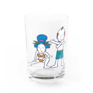 Warming up!/グラス Water Glass