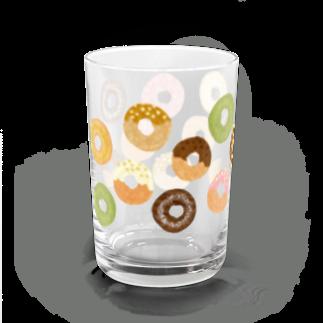 karhu designのドーナツ Water Glass左面