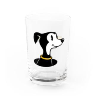 ハウンディーズのキャラコップ Water Glass