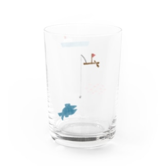 船と魚 Water Glass