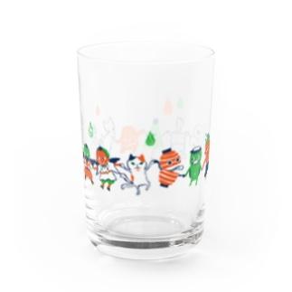 おばけグラス<妖怪ラインダンス・レトロ> Water Glass