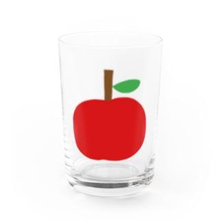 くだものグラス りんご Water Glass