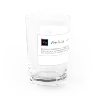 Fe Water Glass