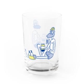 びーると銭湯。 Water Glass
