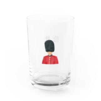 福岡屋台 京都店のロンドン Water Glass左面