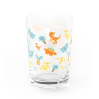 恐竜時代 Water Glass