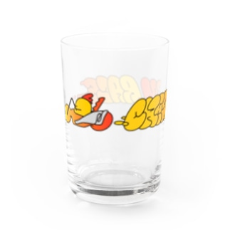 CHICKEN RACE!!!!! Water Glass