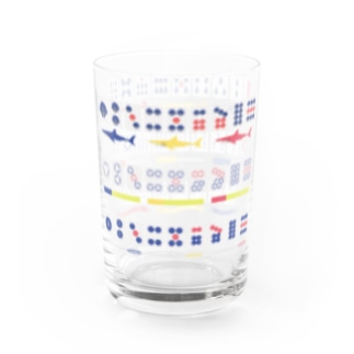 tile style Water Glass