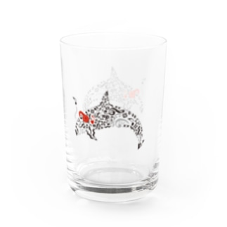 Music orca Water Glass