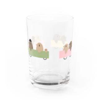 ペンギンバスカラフル Water Glass