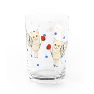 まゆ猫 Water Glass