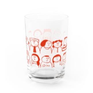 いつも会う人またはどこかで会った人々 Water Glass