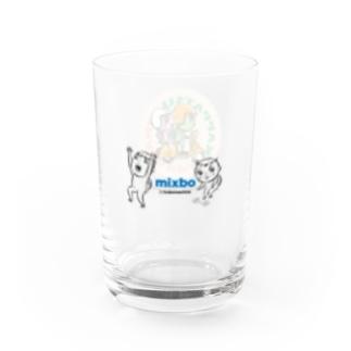 カッパつ野郎(mixbo & スクーター) Water Glass