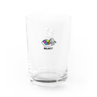 Accept Reject グラス Water Glass