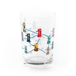 Social distance D Water Glass