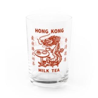 小野寺 光子 (Mitsuko Onodera)のHong Kong STYLE MILK TEA 港式奶茶シリーズ Water Glass右面