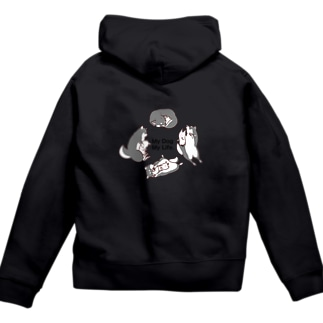 My Dog My Life Second 黒柴 Zip Hoodies