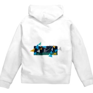 【風景シリーズ】ジップパーカー Zip Hoodies