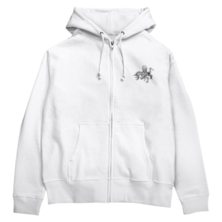 タコパ Zip Hoodies