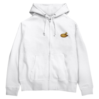 pizza party day Zip Hoodie