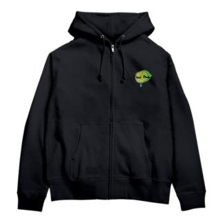 Lime Drop* Zip Hoodies