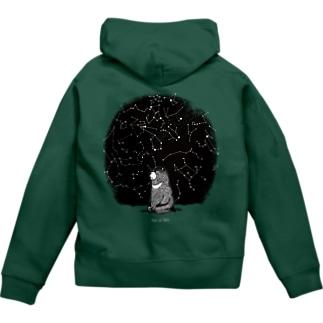 冬の星座 Zip Hoodie