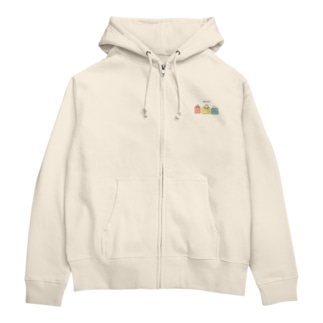 ofuton Zip Hoodies