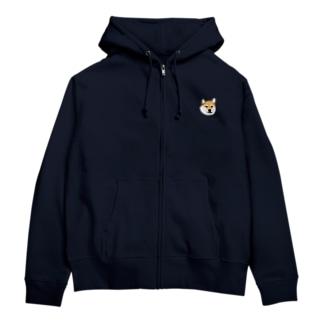 チベシバ Zip Hoodie