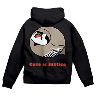 イワシャコの存在が正義 Zip Hoodies