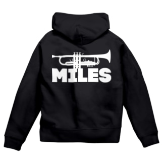 miles Zip Hoodies
