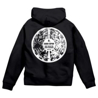 RUDO JAPAN (裏) Zip Hoodies