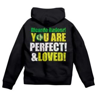 You are the best!(キラキラバージョン) Zip Hoodies