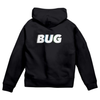 BUG カラー Zip Hoodies