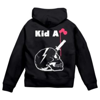 Kid A Zip Hoodies