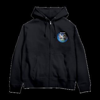 ちばっちょ【ち畳工房&猫ねこパラダイス】のトラ猫ワールド MEOW UNIVERSE Zip Hoodies