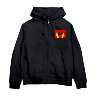 花丸満点(赤×黄version) Zip Hoodies