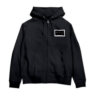 BLACKs  オリジナル Zip Hoodies