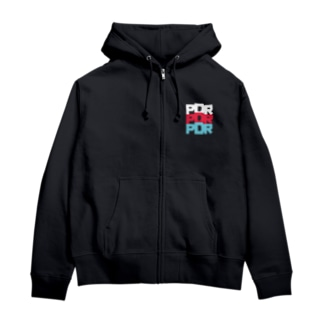PDR3パーカー Zip Hoodies