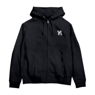 Mintollロゴジップパーカー(Simple) Zip Hoodies
