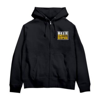 BeerBottleBomb Zip Hoodies