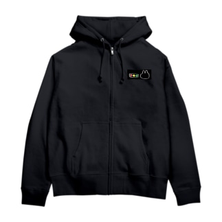 ぴぃい Zip Hoodies